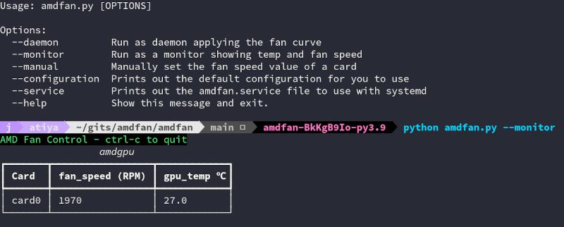 Image of AMDFan running