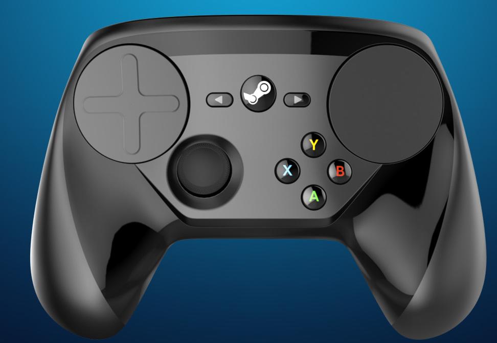 Steam controller image